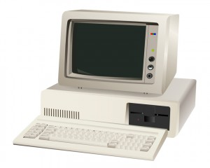 old computer unit
